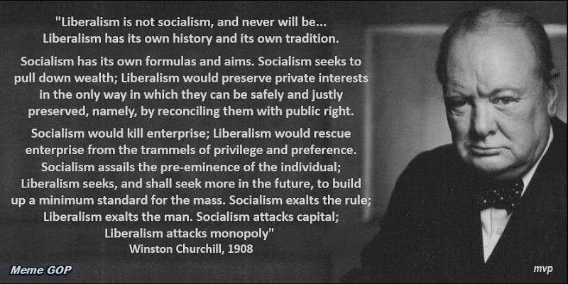 Winston Churchill on Liberalism