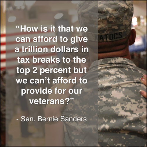 Corporations or Veterans, Republicans always choose Corporations.